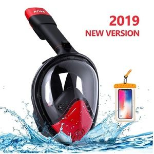 New Snorkel Mask Full Face for Adults Kids Youth,